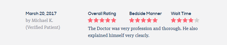 Dr suh was very professional and thorough