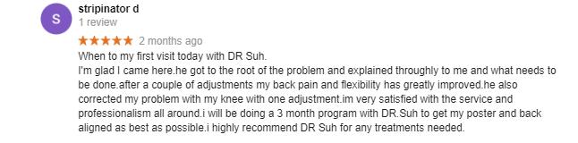dr suh professional